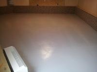 afwerking vloer met Weber floor epoxy