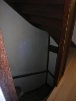 onderkant trapaanzicht voor het schilderwerk