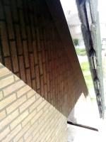 onderkant daklijst in de hoogglans