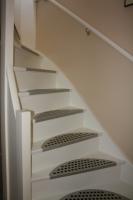 trap afgelakt ral 9010 aqua satin